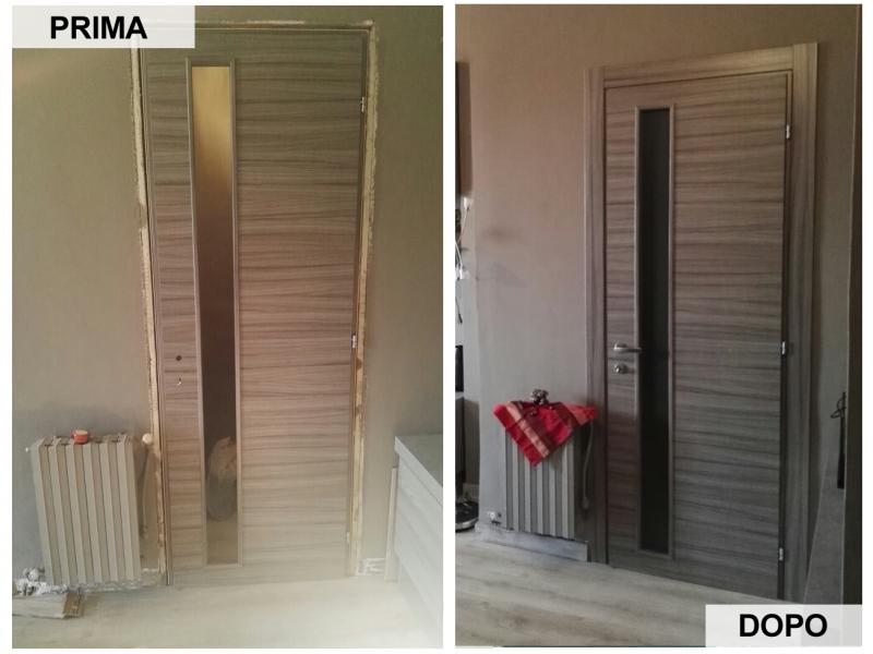 Foto installazione serramenti Nichelino Torino Moncalieri