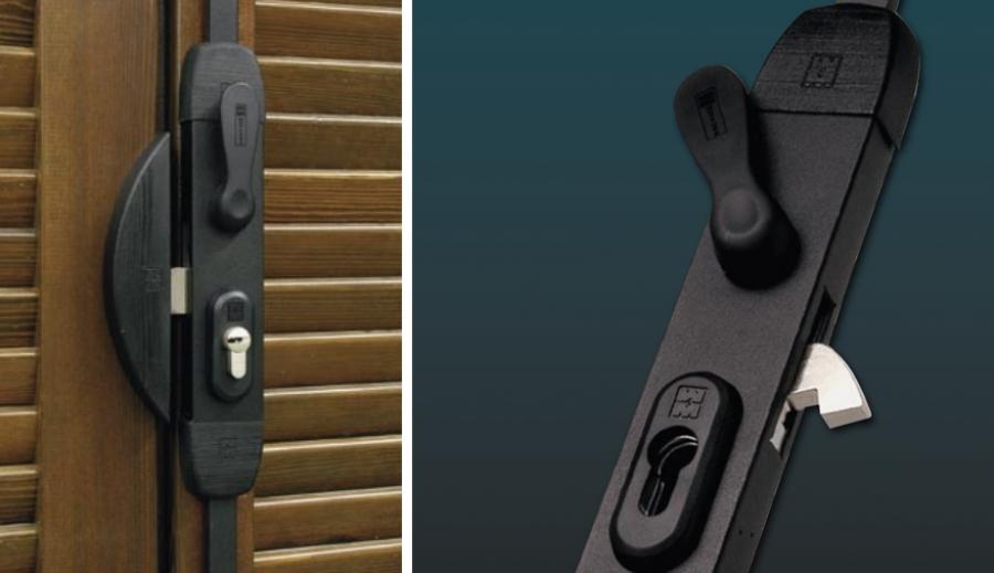 Serrature da applicare a serramenti scorrevoli - Chiavistelli per finestre ...